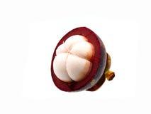 Thailändische Mangostanfrucht Stockbilder