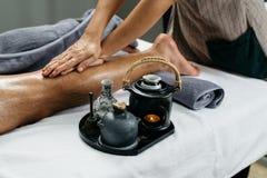 Thailändische Massage-Reihe Lizenzfreies Stockbild