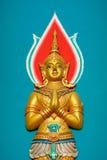 Thailändische Muster-Buddhist-Wandgemälde Lizenzfreies Stockbild