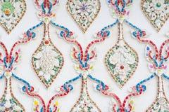 Thailändische Musterwand Stockbild
