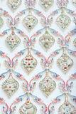 Thailändische Musterwand lizenzfreie stockfotografie