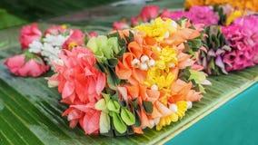 Thailändische nette Farbe des Girlandendesigns sehr im Verkauf Stockfotos
