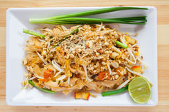 Thailändische Nudel Lizenzfreie Stockbilder