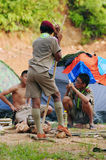 Thailändische Pfadfinder Stockbilder