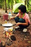 Thailändische Pfadfinder stockfotografie