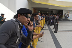 Thailändische politische Krise Stockbilder
