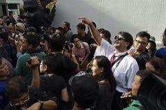 Thailändische politische Krise Stockfotografie