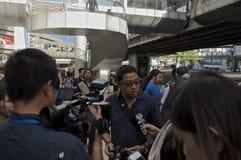 Thailändische politische Krise Lizenzfreie Stockfotos
