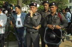 Thailändische politische Krise Lizenzfreies Stockfoto