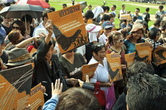 Thailändische politische Krise Stockfotos