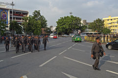 Thailändische politische Krise Stockfoto