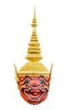 Thailändische riesige khon Maske Lizenzfreie Stockbilder
