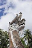 Thailändische riesige Schlange stockfotografie