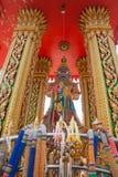 Thailändische riesige Statue Stockfotos