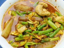 Thailändische saure Suppe Lizenzfreies Stockfoto