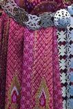 Thailändische Seide. Stockbild