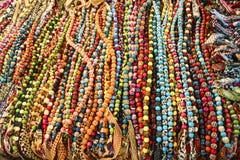 Thailändische Stammes- Perlen Lizenzfreies Stockfoto