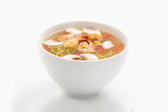 Thailändische Suppe stockbilder