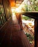 Thailändische Terrassen in der Natur Stockbilder