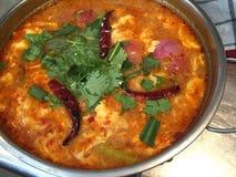Thailändische Tomyum-Suppe Lizenzfreies Stockbild