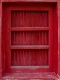 Thailändische traditionelle antike Tür Lizenzfreie Stockfotos