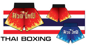 Thailändische Verpackenkurze hosen 3 Lizenzfreie Stockfotografie