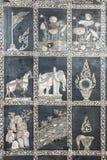 Thailändische Wandkunst Lizenzfreies Stockbild