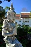 Thailändische willkommene Statue Stockbild