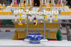 Thailändischer Altar Stockfotografie
