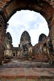 Thailändischer alter Tempel lizenzfreie stockbilder
