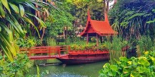 Thailändischer Artgarten stockfotografie
