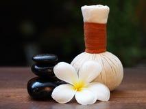 Thailändischer Badekurortfelsen und Blume Badekurort, Thailand Lizenzfreies Stockbild
