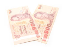 thailändischer Baht 100 Stockbild