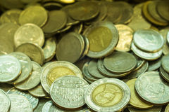 Thailändischer Baht der Münze Lizenzfreie Stockfotografie