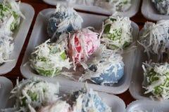thailändischer Bonbon des Reisballs Lizenzfreies Stockbild