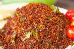 Thailändischer Chili Salt Lizenzfreie Stockbilder