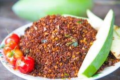 Thailändischer Chili Salt Stockfoto