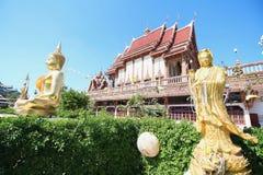 Thailändischer Drache oder König von Naga Lizenzfreies Stockfoto