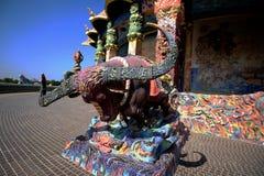 Thailändischer Drache oder König von Naga Lizenzfreies Stockbild