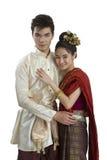 Thailändischer Ehemann und Frau lizenzfreie stockbilder