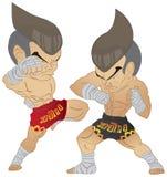 Thailändischer Fighting Muay Lizenzfreies Stockfoto