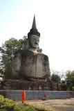 Thailändischer Fotorezeptor nhongkhai Tempel der hindischen Art Buddha-Statue Lizenzfreies Stockfoto