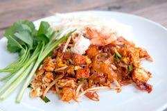 Thailändischer Fried Noodles stockfoto