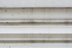 Thailändischer Hintergrund der weißen antiken Kunst der Wand Lizenzfreies Stockfoto