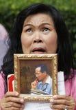 Thailändischer König Death Lizenzfreies Stockbild