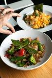 Thailändischer Lebensmittel-Stilist Stockfoto