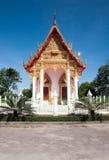 Thailändischer lokaler Tempel Lizenzfreies Stockbild