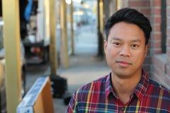 Thailändischer Mann Stockfotografie