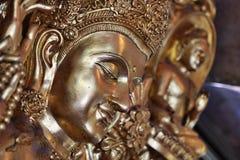 Gesicht von Buddha Stockfotos