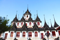 Thailändischer metallischer Palast Lizenzfreies Stockfoto